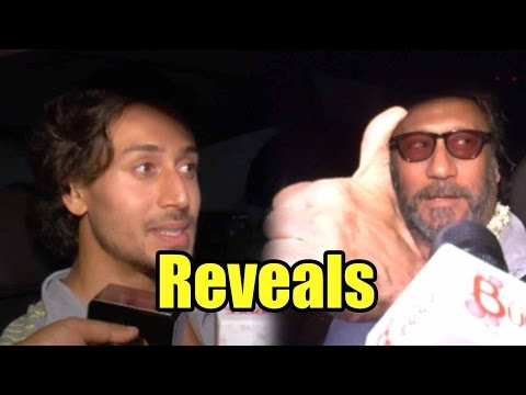 Tiger Shroff Reveals Father Jackie Shroff's Reacti