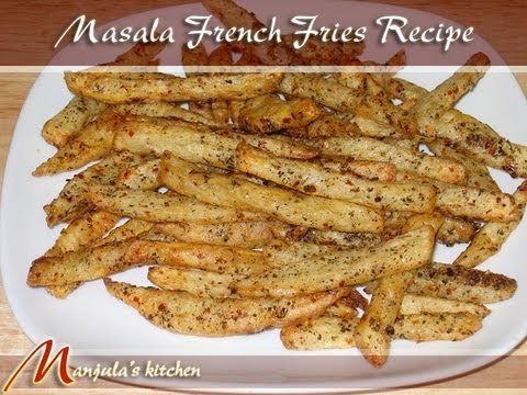 Masala French Fries Recipe by Manjula