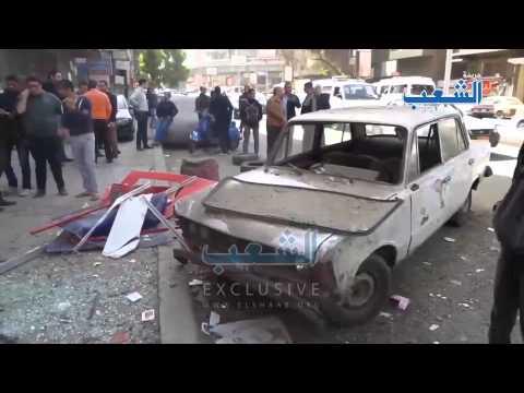 """اللقطات الأولية لحادث تفجير """"فودافون السودان"""""""