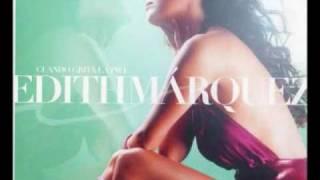 video y letra de Me faltas tanto (audio) por Edith Marquez