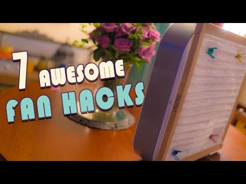 7 Awesome Fan Hacks To Try At Home
