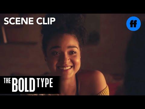 The Bold Type | Season 2, Episode 7: Kat Spills Details to Adena | Freeform