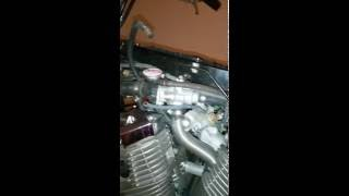 10. 2004 honda Vtx 1800C coolant adding part # 2