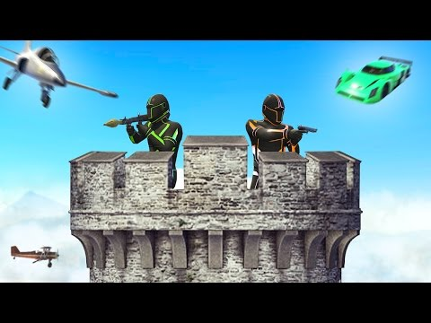 TOWER DEFENSE GTA CHALLENGE! (GTA 5 Funny Moments)