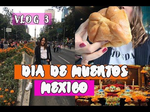 PASEO POR MEXICO - DESFILE DIA DE MUERTOS - COMIDA VENEZOLANA