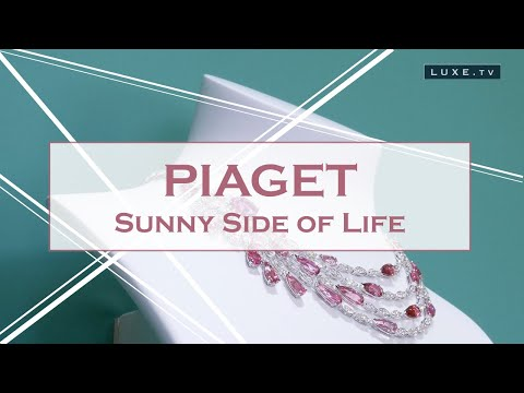 When Piaget Society inspires fine jewelry ...