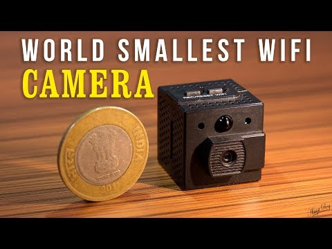 WORLD SMALLEST Wi-Fi SPY CAMERA Smaller than a Coin 🔥🔥🔥