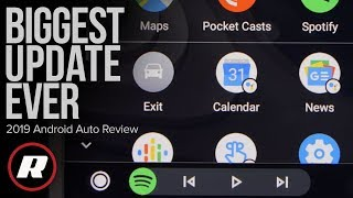 Tech Check: 2019 Android Auto update is so much easier to use by Roadshow