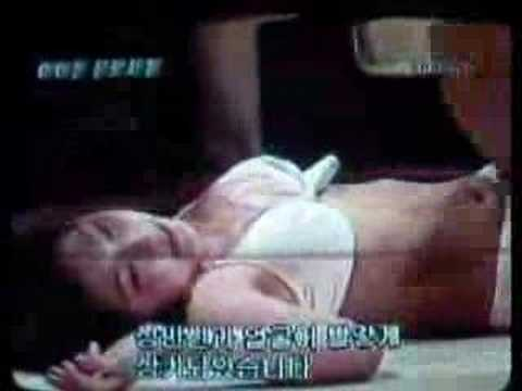 Japanese bikini wrestling on Korean TV