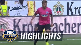 Eintracht Frankfurt vs. Hertha BSC Berlin | 2016-17 Bundesliga Highlights by FOX Soccer