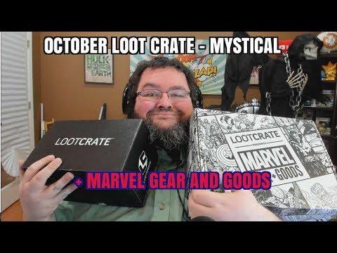 loot Crate Unboxing - October 2017 - Mystical!