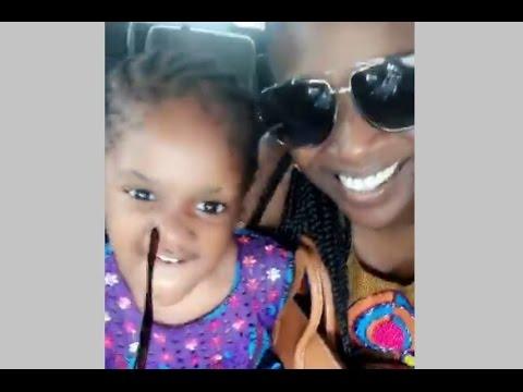 Watch 2Face Daughter, Olivia Speaking Her Okpongeh English Grammar With Mum Annie Idibia (VIDEO)