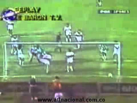 Final Libertadores 1989, Atlético Nacional