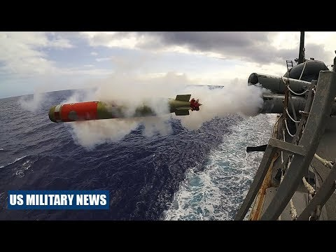 Here's How the U.S. Navy Launches Anti-Submarine Torpedoes from Ships