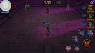 It's ordinary now to see cyclops 5th skill flinching the enemy to the death on single enemies or on relay stages, so how about on rumble floor will he able to do it?!How to:Run to the right corner close to you, use his 2nd skill, its i-frame will get the enemies on a straight parallel line now use that ridiculous 5th skill. It's difficult though, at least it's difficult for me.Build at the end of Video