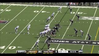 Brandon Weeden vs Texas Tech (2011)