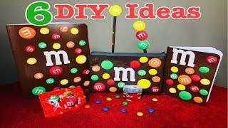 """DIY"""" 6 M&M Ideas Gift Set For Students Teachers Or The Office 2018"""