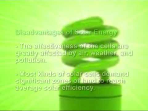 Advantages And Disadvantages Of Solar Power-You Make The Judgement?