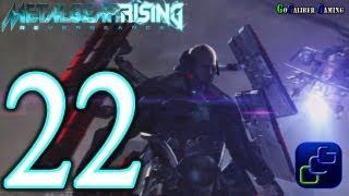 Metal Gear Rising: Revengeance Walkthrough - Part 22 - Chapter File R-04: Hostile Takeover