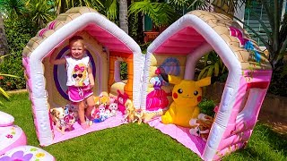Playhouse for a lot of funny toys