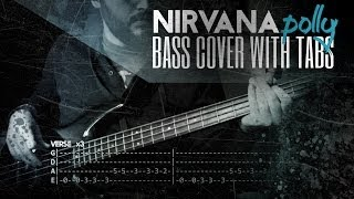 Download Lagu Polly - Nirvana | Bass w/ Tabs (HD Cover | 1080p) Mp3