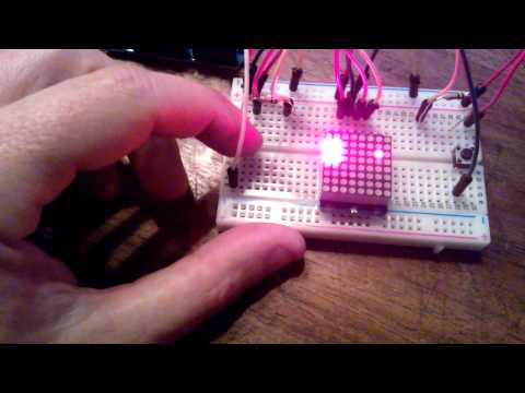hacking an optical mouse using arduino - YouTube