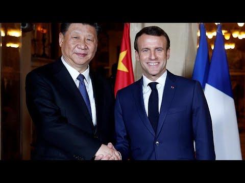 Frankreich: Xi diniert mit Macron - Auftakt zu Wirtsc ...