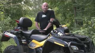 1. Dirt Trax Test Rides 2009 Outlander Max 800R EFI XT-P