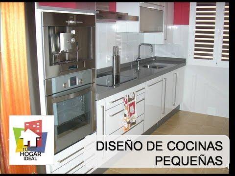 Conoce soluciones para cocinas con pocos metros - Cocinas pequenas soluciones ...
