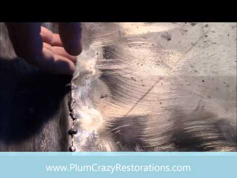 1965 Mercury Comet Rear Floor Pan Repair