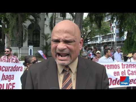"""""""Queremos saber quiénes son los coimeros"""", protestas por caso Odebrecht."""