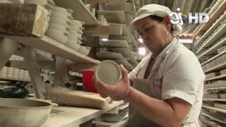 Cómo se hacen las vajillas en el Carmen de Viboral