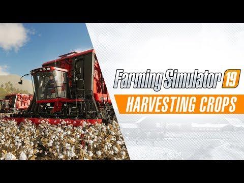 Harvesting Crops Gameplay Trailer
