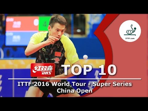 DHS ITTF Top 10 - 2016 China Open
