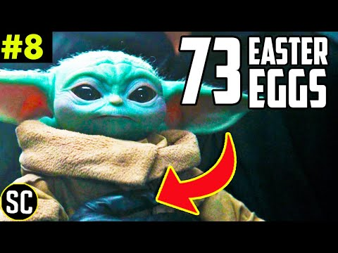MANDALORIAN 2x08 Breakdown Every Star Wars Easter Egg  What Happens to Grogu After SPOILER?