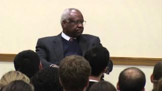 Justice Clarence Thomas Visits HLS