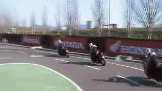 Honda Instituto de Seguridad - Agilidad y Trazada de curvas