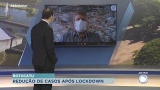 Após lockdown, Botucatu tem redução de casos da Covid-19