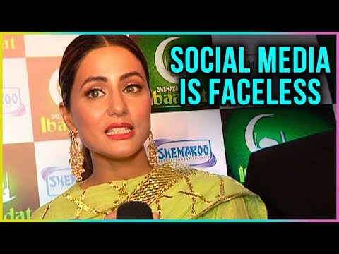Hina Khan REACTS On Fans TROLLING Her On Social Me