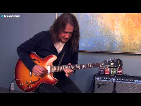 "Robben Ford demos his ""Spring Fever"" TonePrint for the Hall of Fame Reverb"