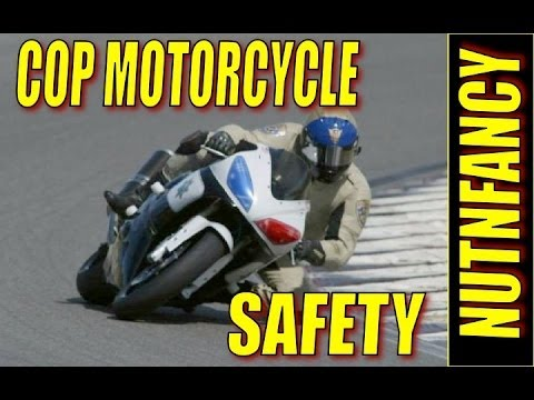 How Motorcycle Cops Stay Alive