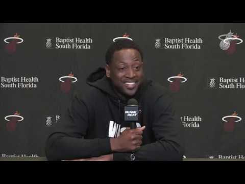 Video: Dwyane Wade's Miami Heat Press Conference | NBA Media Day 2018