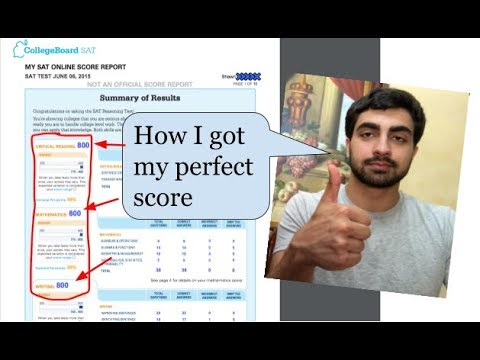 How to Destroy the SAT and Earn a Perfect Score
