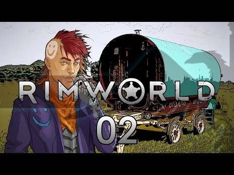 Rimworld 16 Wanderlust #02 - Gameplay / Let's Play