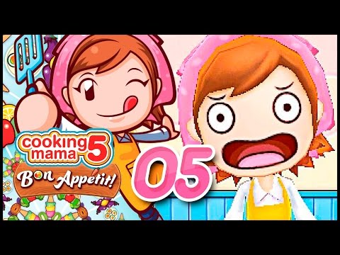 CRACKIN DEM EGGS! Cooking Mama 5 Bon Appetit! Ep 5 W/ TheKingNappy!