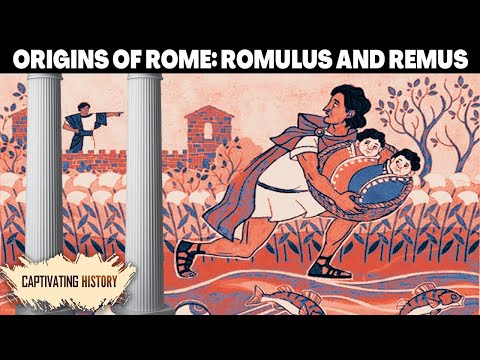 The Founding of Rome: The Roman Myth of Romus and Remus Animated