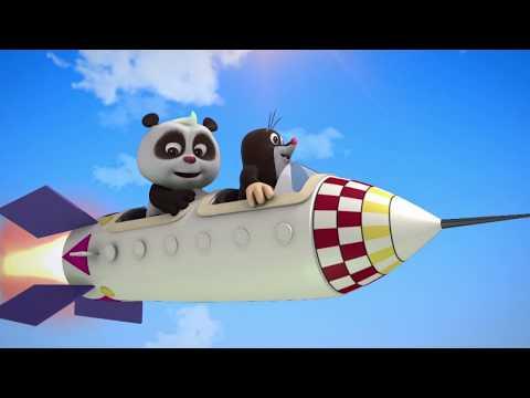 Мультики для детей - Кротик и Панда - Все серии - Сборник мультфильмов