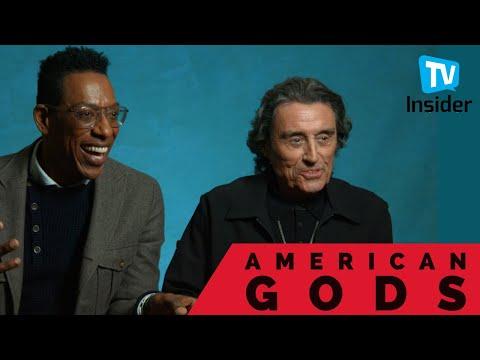 The Cast of 'American Gods' Talk Season 2   TV Insider