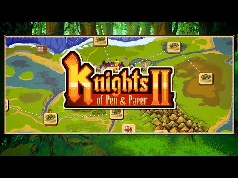 Check Out the First 'Knights of Pen & Paper 2' Gameplay Footage