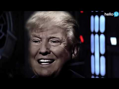 Donald Trump Interrupts STAR WARS!
